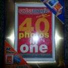 Swissmagic 40 Photos Album & Frame - Pull & Push sliding drawer to change pictures!