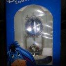 Disney Eeyore Anniversary Clock Glass Dome Globe Winnie the Pooh Friend - NIB!