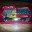 Coca Cola reproduction delivery truck - Die Cast Metal Train Accessory!