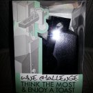 WINE CHALLENGE Think The Most & Enjoy A Toast Black WOODEN PUZZLE!