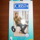 Jobst for Men Casual Knee High Sock Closed Toe (20-30 mmHg) SIZE M - BLACK - #113117!