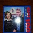 Arkansas Gothic Bill & Hillary Clinton 100 Pc Gift Box Puzzle by F-INK - Photo by Alfred Gescheidt!