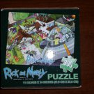 "Loot Crate May 2015 Rick and Morty 11"" x 14"" 300 piece Puzzle by Cardinal Industries - RARE!"