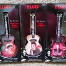 "Elvis Illuminated Musical Ornaments-Lot of 3-""Santa Claus Is..."",""That's All Right"",""Burning Love""!"