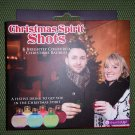 Christmas Ornament Shot Glasses - Set of 6 - Festive Coloured Bauble-Shaped Flasks!
