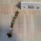 "Henry Vilas Zoo ""Catching Hope"" Re-purposed poaching snare keychain!"