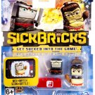 Sick Bricks - 2 Character Pack - Hiro Thunderbutt & Silent Shadow by Sick Bricks!