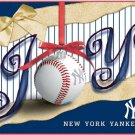 "NEW YORK YANKEES ""JOY"" Holiday Greeting Cards by Turner Licensing - Officially Licensed!"