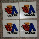 WKTU - 103.5FM  - THE BEAT OF NEW YORK Temporary Tattoos - Lot of 4!
