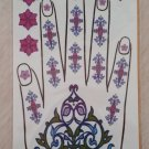 Glittering Hand, Fingers, Nails & Wrist Temporary Tattoos plus more!