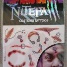 PIERCE & STAB Nitefall Costume Tattoos by Savvi!