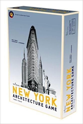The Prestel New York Architecture Game Game-EXPLORE NY WHILE BUILDING THE CITY'S ARCHITECTURAL ICONS