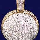 Swarovski Brand Vintage Dazzling Large Austrian Crystal Ball Pendant - NEW in BOX - RARE!