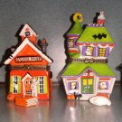 Vintage Miniature Halloween Themed Hinged Trinket Box Collection - SURPRISES INSIDE!