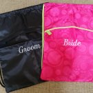Thirty-One Bags Bride & Groom Cinch Sac Backpack Set - NWOT!