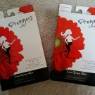 Preggers by Therafirm Maternity Tights-10-15 mmHg-Lot of 2 Pairs-Size Medium-Black-New!