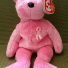 TY BEANIE BABIES - AWARENESS Breast Cancer Awareness Bear - NEW WITH TAG!