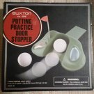Buxton Putting Practice Door Stopper - Let any door be your chance to golf!