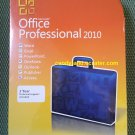 Microsoft Office Professional 2010 - Full Retail Version for Up To 3 PCs (DVD)- MADE IN USA!