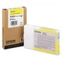 Epson T6054 - Yellow - Original - Ink Cartridge - For Stylus Pro 4800, Pro 4880 - FACTORY SEALED!