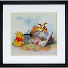 Winnie the Pooh & Storytime Too Limited Edition Sericel by Disney - 1998 Edition - NEW with TAGS!