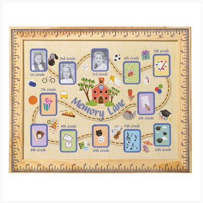School Days Picture Frame, Grades 1 through 12