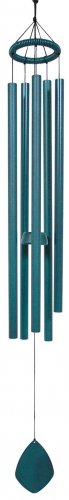 Green Tuned Aluminum Wind Chime