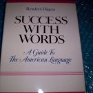 SUCCESS  WITH  WORDS    ISBN 0-89577-168-3                (410)