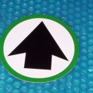 "Automatic Door ""ARROW"" Label          (814)"