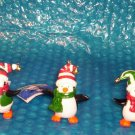 Holiday Happy Feet Penguin Christmas Ornaments  (854)