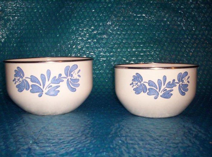 SET OF 2 Mixing Bowls             stk#(295)