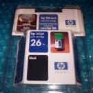 Hewlett Packard Cartridge  #26                 stk#(319)