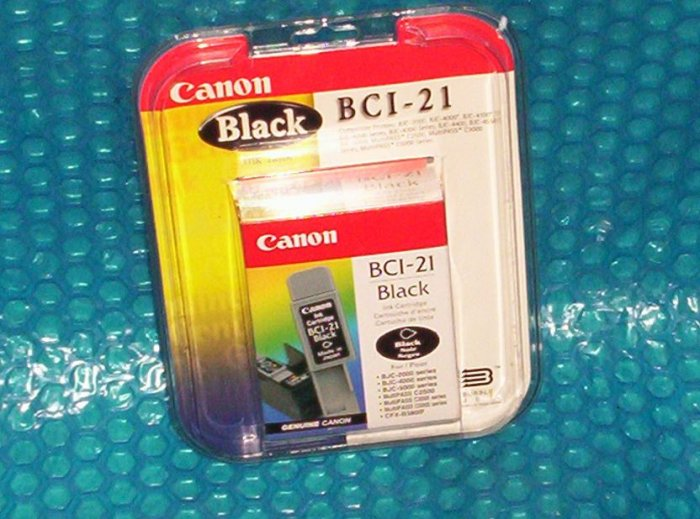 Canon Ink Cartridge   Black  BCI-21    (939)