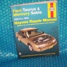 Haynes Taurus & Sable  Manual  1 56392 212 6  (976)