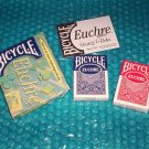 Bicycle Euchre card pack  605  stk#(1372)