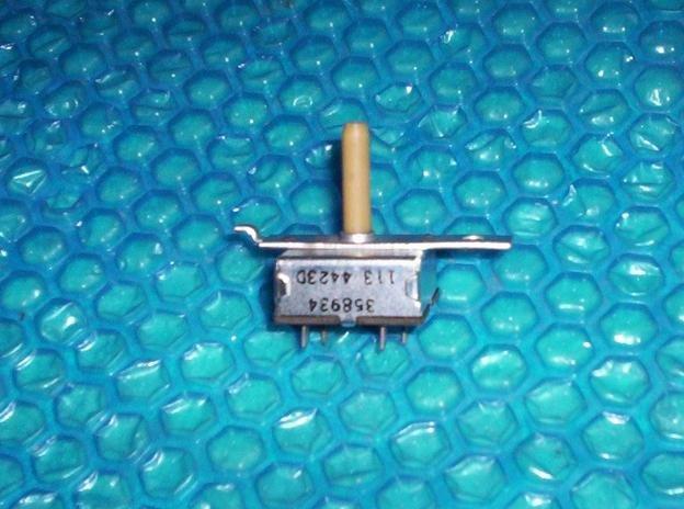 Whirlpool/Kenmore Washer model LA5550XPW7 Temp. SWITCH 358934 stk#(1556)