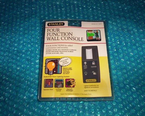 Stanley Garage Opener Wall Switch Stk 1597