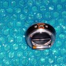 "GE Stove Gas Top burner knob 2"" aluminum stk#(1667)"
