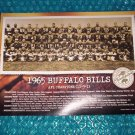 "BUFFALO BILLS Celebration of Champions Poster 9""X12""    stk#c(1803)"