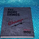 PARADISE VALLEY HIGH SCHOOL YearBook 1992 stk#(2361)