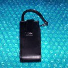 LG  Cell Phone Black Leather Case w/strap   stk#(2388)