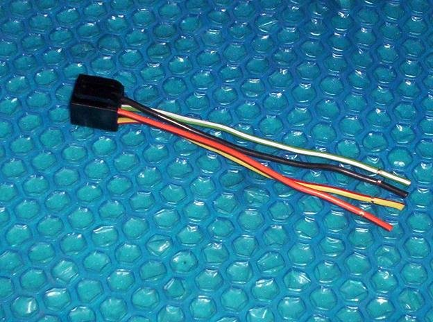 Ford Motocraft Fan Switch Plug Wire Stk 2655