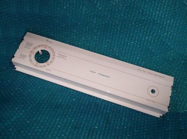 Whirlpool Dryer Control Panel Cover P N 3976748 Stk 2692