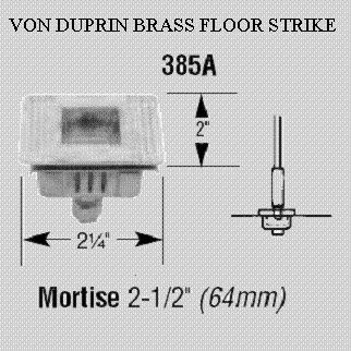 VON DUPRIN STRIKE 385A stk#(2263)