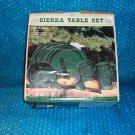 Sierra Table Set- 15. Set. stk#(2821)