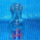Vintage Huffman one Quart Glass Oil Bottle   stk#(2956)