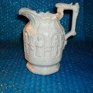 Vintage Religious ceramic Pitcher  stk#(3005)
