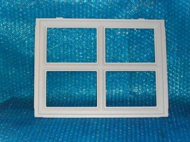Garage Door Window Insert Quot Stockton Quot 12 1 2 Quot X 16 1 2 Quot Stk