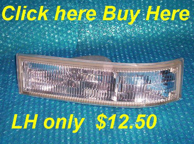 Chevrolet/GMC Astro Parking/Side Lamp Assembly LH 16520249A stk#(3055)