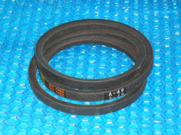 Powerflite V belt  A-49   stk#(3071)